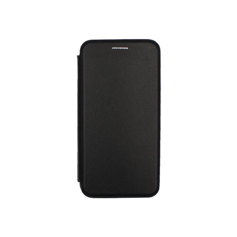 Θήκη Samsung Galaxy A3 2017 Πορτοφόλι με Μαγνητικό Κλείσιμο μαύρο 1