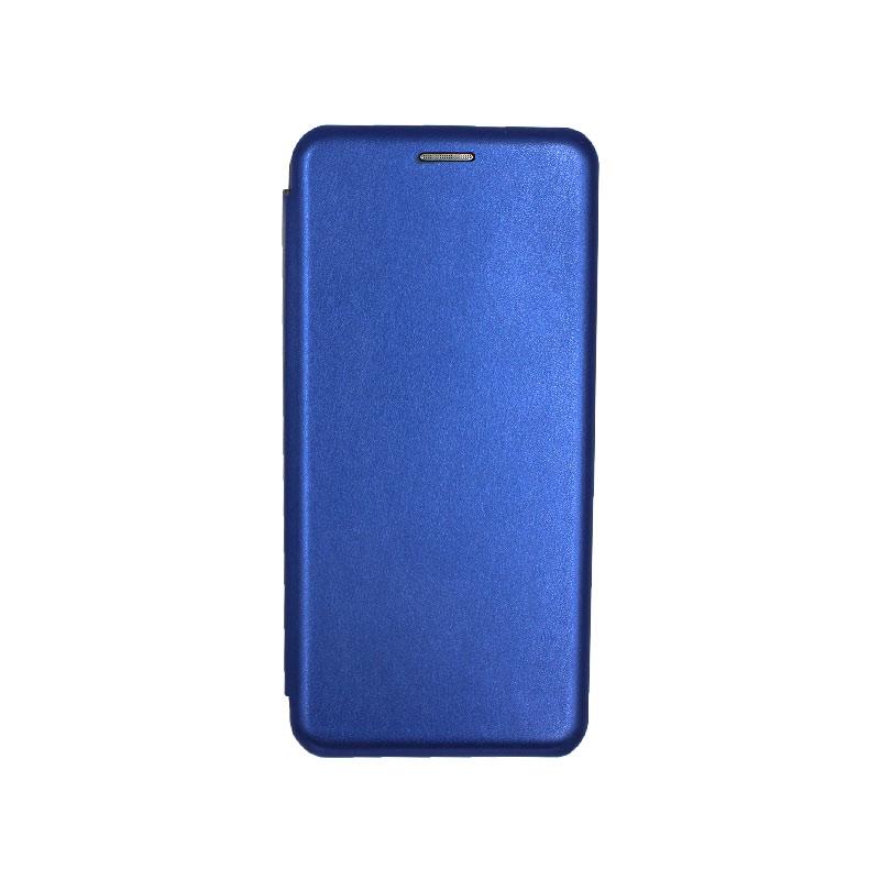 Θήκη Samsung Galaxy Note 10 Plus Πορτοφόλι με Μαγνητικό Κλείσιμο μπλε 1