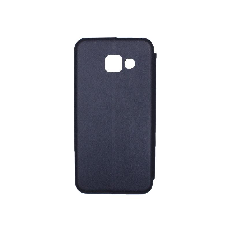 Θήκη Samsung Galaxy A5 2017 Πορτοφόλι με Μαγνητικό Κλείσιμο μπλε 2