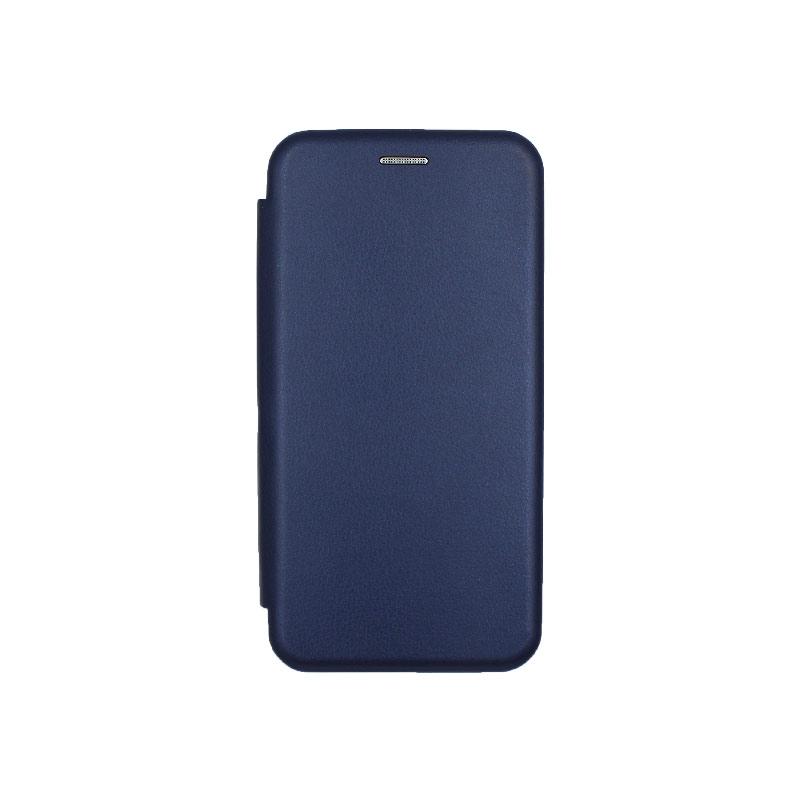Θήκη Samsung Galaxy A10 / M10 Πορτοφόλι Με Μαγνητικό Κλείσιμο μπλε 1
