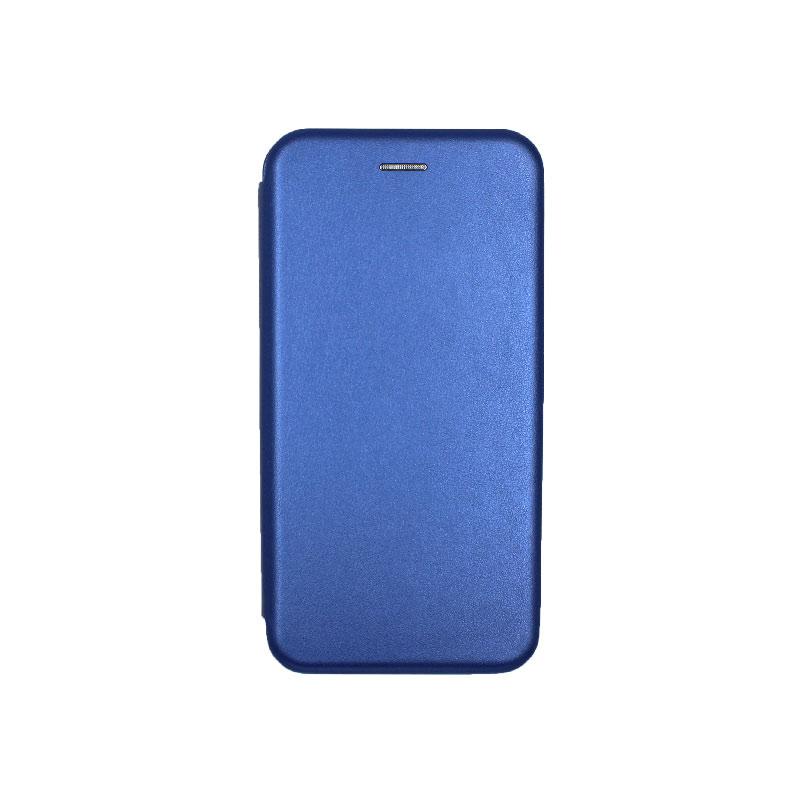 Θήκη Samsung Galaxy J6 Plus Πορτοφόλι με Μαγνητικό Κλείσιμο μπλε 1