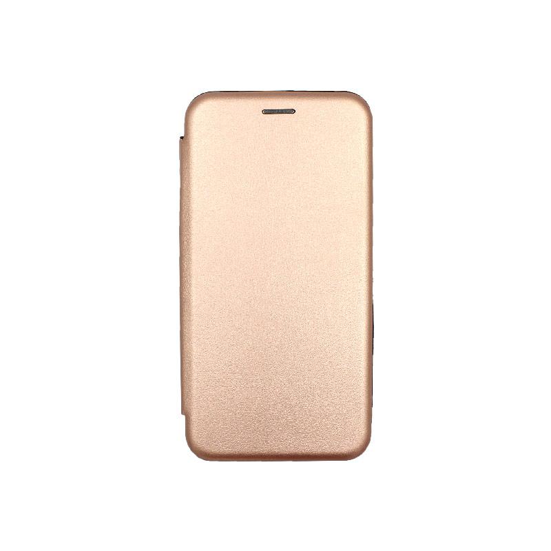 Θήκη iPhone 7 Plus / 8 Plus Πορτοφόλι με Μαγνητικό Κλείσιμο ροζ χρυσό 1