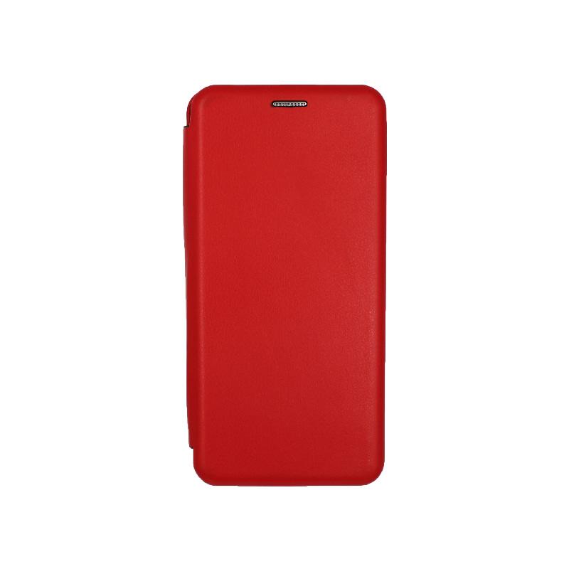 Θήκη Samsung Galaxy Note 9 Πορτοφόλι με Μαγνητικό Κλείσιμο κόκκινο 1