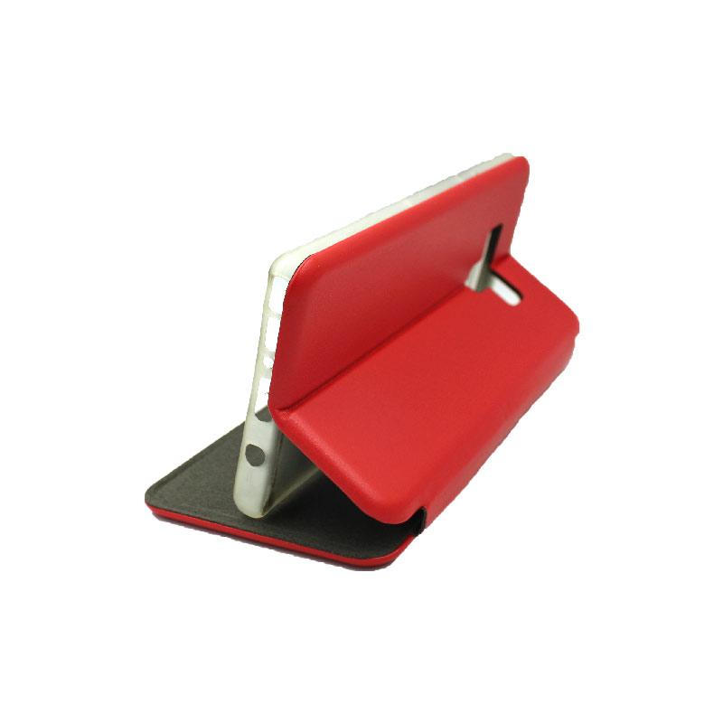 Θήκη Samsung Galaxy Note 9 Πορτοφόλι με Μαγνητικό Κλείσιμο κόκκινο 4