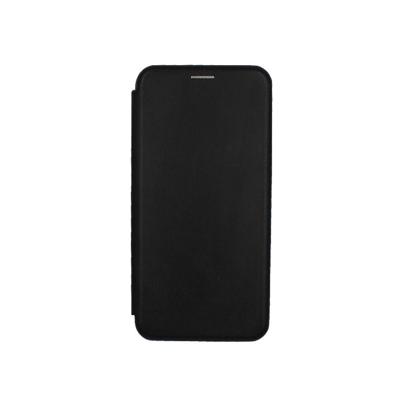 Θήκη Samsung Galaxy J6 Plus Πορτοφόλι με Μαγνητικό Κλείσιμο μαύρο 1