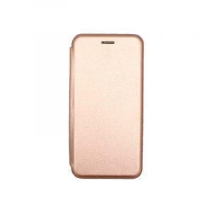 Θήκη Samsung Galaxy A5 / Α8 2018 Πορτοφόλι με Μαγνητικό Κλείσιμο ροζ χρυσό 1