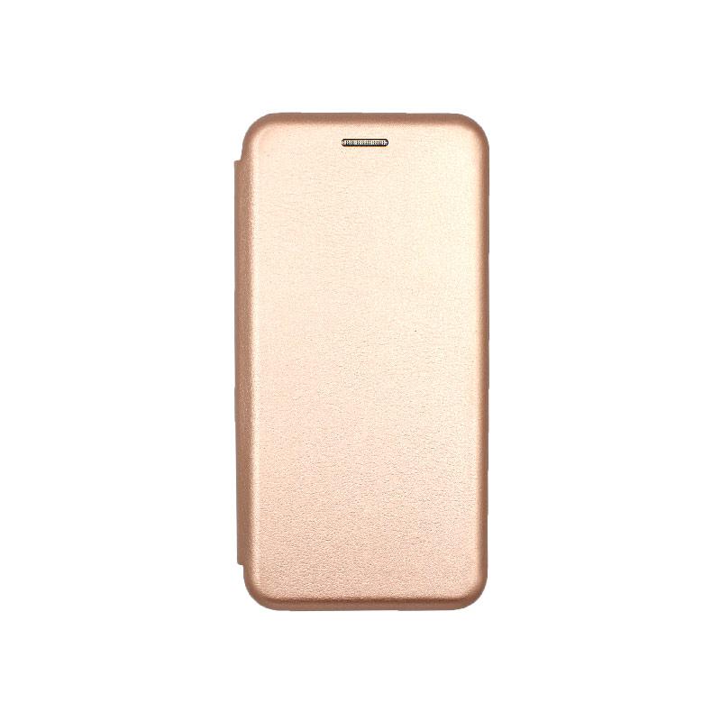 Θήκη Samsung Galaxy A6 Πορτοφόλι με Μαγνητικό Κλείσιμο ροζ χρυσό 1