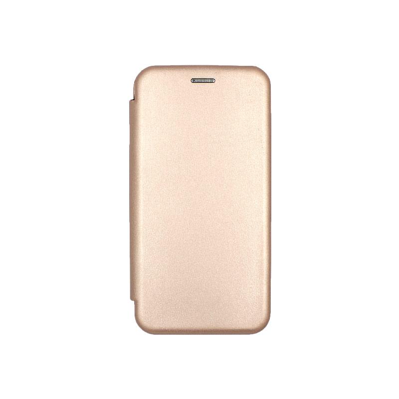 Θήκη Samsung Galaxy A10 / M10 Πορτοφόλι Με Μαγνητικό Κλείσιμο ροζ χρυσό 1