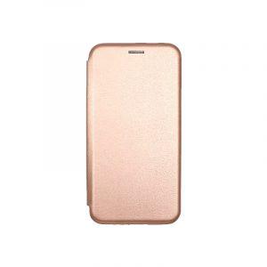 Θήκη Samsung Galaxy A7 2018 Πορτοφόλι με Μαγνητικό Κλείσιμο ροζ χρυσό 1