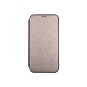 Θήκη Samsung Galaxy A7 2018 Πορτοφόλι με Μαγνητικό Κλείσιμο γκρι 1