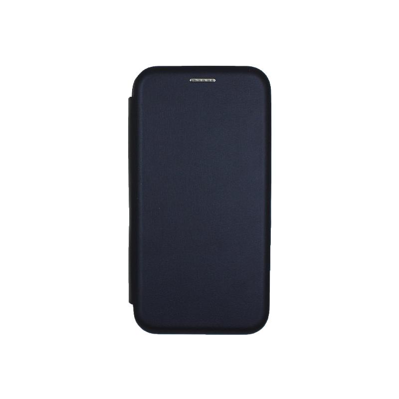Θήκη Samsung Galaxy J2 Pro Πορτοφόλι με Μαγνητικό Κλείσιμο μπλε 1