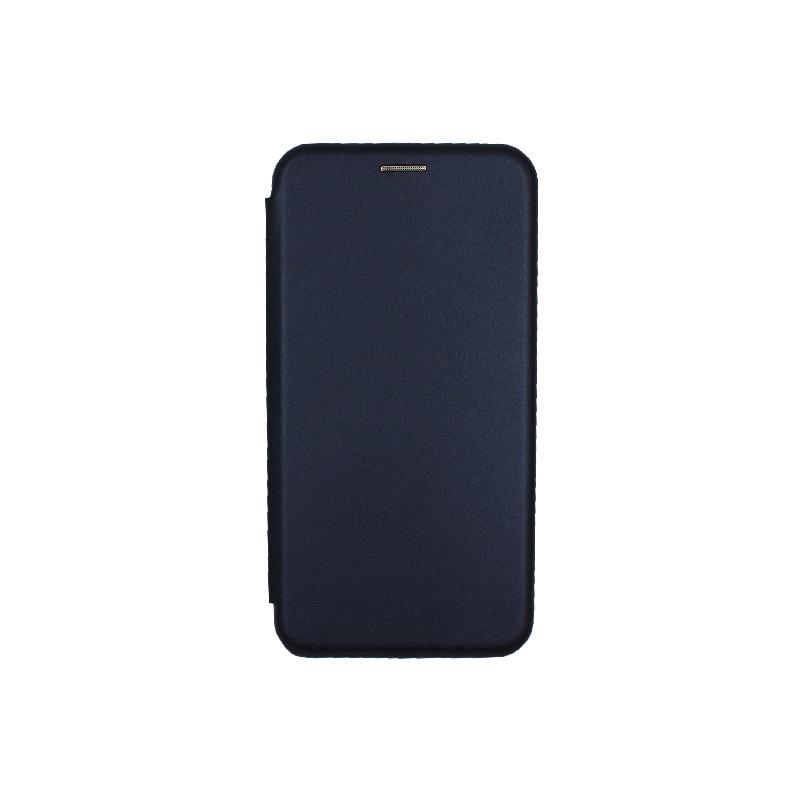 Θήκη Samsung Galaxy J7 2017 Πορτοφόλι με Μαγνητικό Κλείσιμο μπλε 1