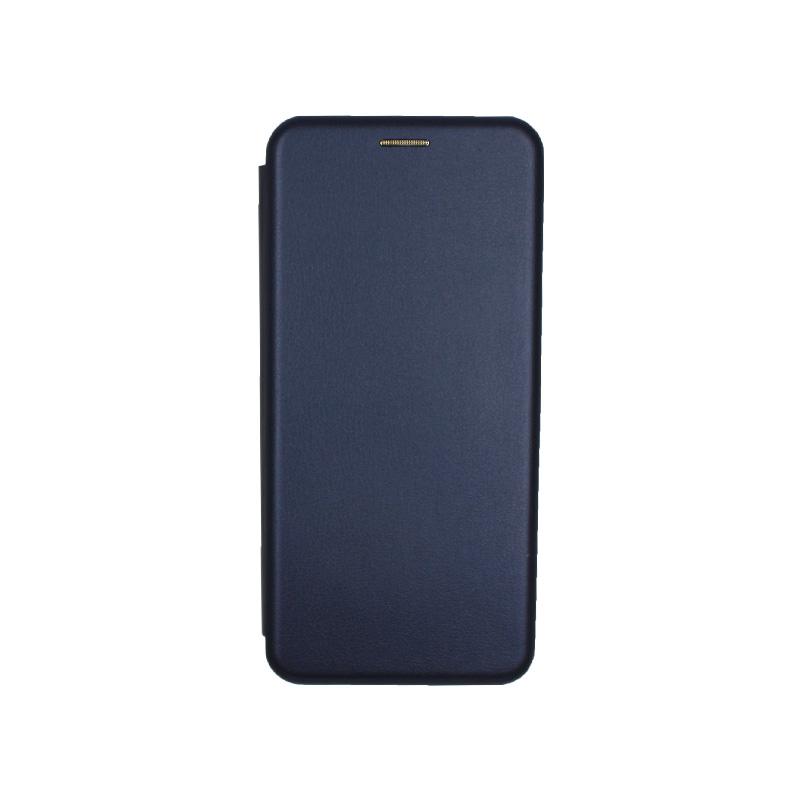 Θήκη Samsung Galaxy Note 10 Lite / A81 Πορτοφόλι με Μαγνητικό Κλείσιμο σκούρο μπλε 1