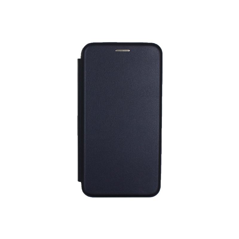 Θήκη Samsung Galaxy J3 2017 Πορτοφόλι με Μαγνητικό Κλείσιμο μπλε 1