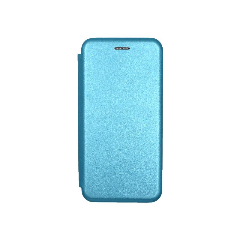 Θήκη Samsung Galaxy J6 Πορτοφόλι με Μαγνητικό Κλείσιμο γαλάζιο 1