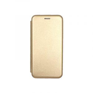 Θήκη Samsung Galaxy J6 Πορτοφόλι με Μαγνητικό Κλείσιμο χρυσό 1