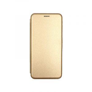 Θήκη Samsung Galaxy Note 10 Lite / A81 Πορτοφόλι με Μαγνητικό Κλείσιμο χρυσό 1