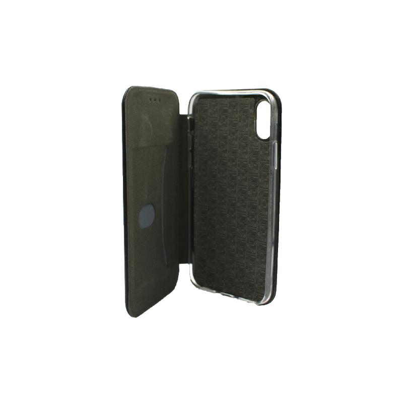 θήκη iphone X / Xs / XR / Xs Max πορτοφόλι μαύρο 3