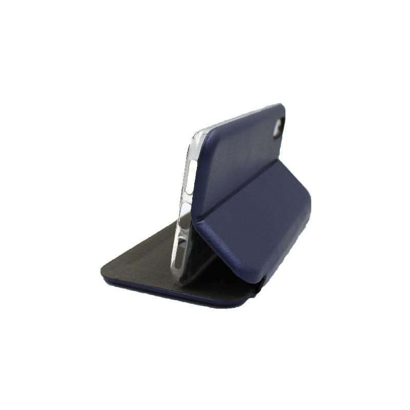 θήκη iphone X / Xs / XR / Xs Max πορτοφόλι μπλε 1