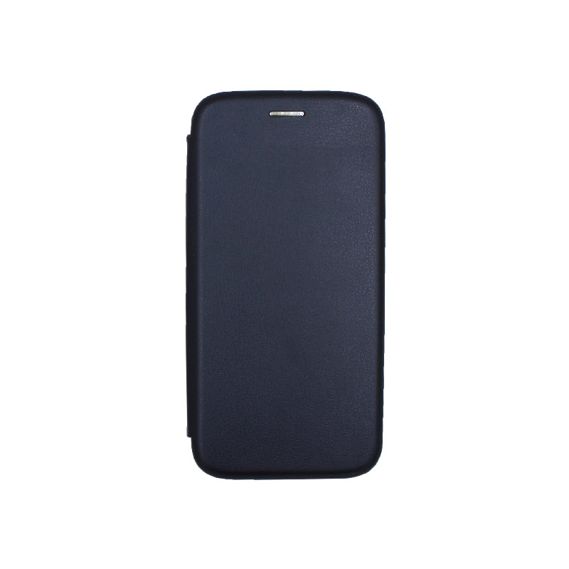 Θήκη Samsung Galaxy A5 / Α8 2018 Πορτοφόλι με Μαγνητικό Κλείσιμο σκούρο μπλε 1