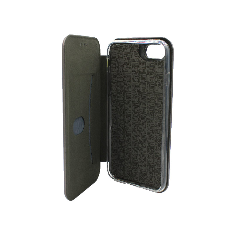 θήκη iphone 7 / 8 πορτοφόλι γκρι 3