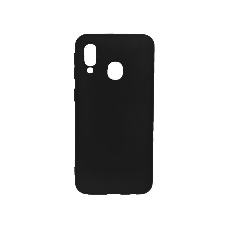 Θήκη Samsung Galaxy A40 Σιλικόνη μαύρο