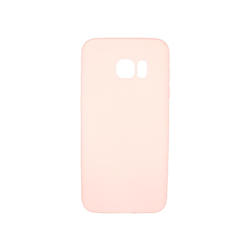 Θήκη Samsung Galaxy S7 Edge Σιλικόνη απαλό ροζ