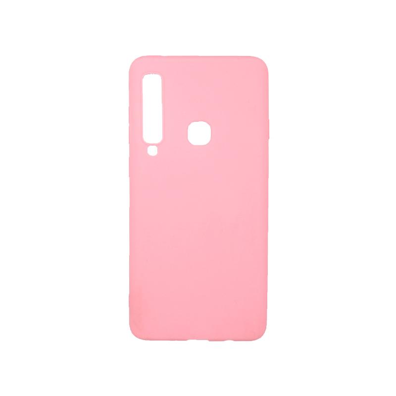 Θήκη Samsung Galaxy Α9 2018 Σιλικόνη απαλό ροζ