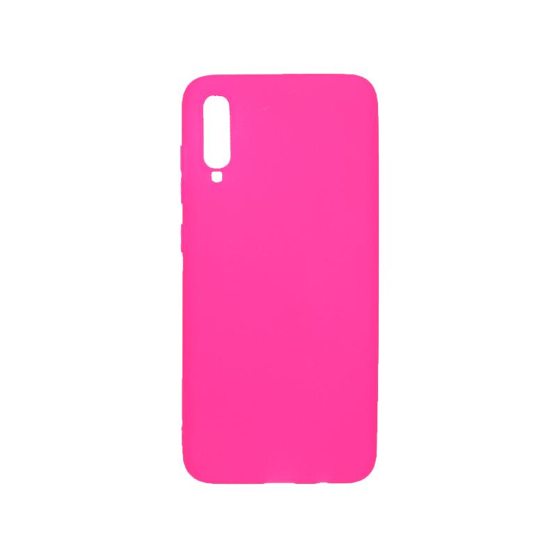 Θήκη Samsung Galaxy A70 / A70S Σιλικόνη φουξ
