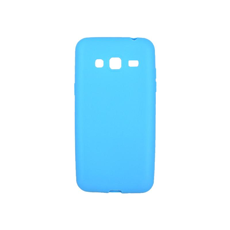Θήκη Samsung Galaxy J3 2016 Σιλικόνη γαλάζιο