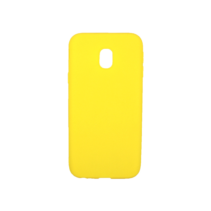 Θήκη Samsung Galaxy J3 2017 Σιλικόνη κίτρινο