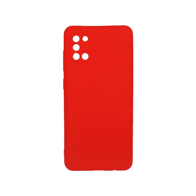 Θήκη Samsung A31 Σιλικόνη κόκκινο