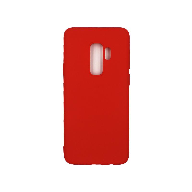 Θήκη Samsung Galaxy S9 Plus Σιλικόνη κόκκινο