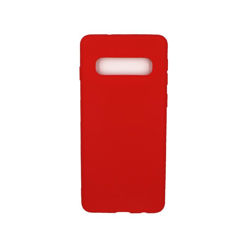 Θήκη Samsung Galaxy S10 Σιλικόνη κόκκινο