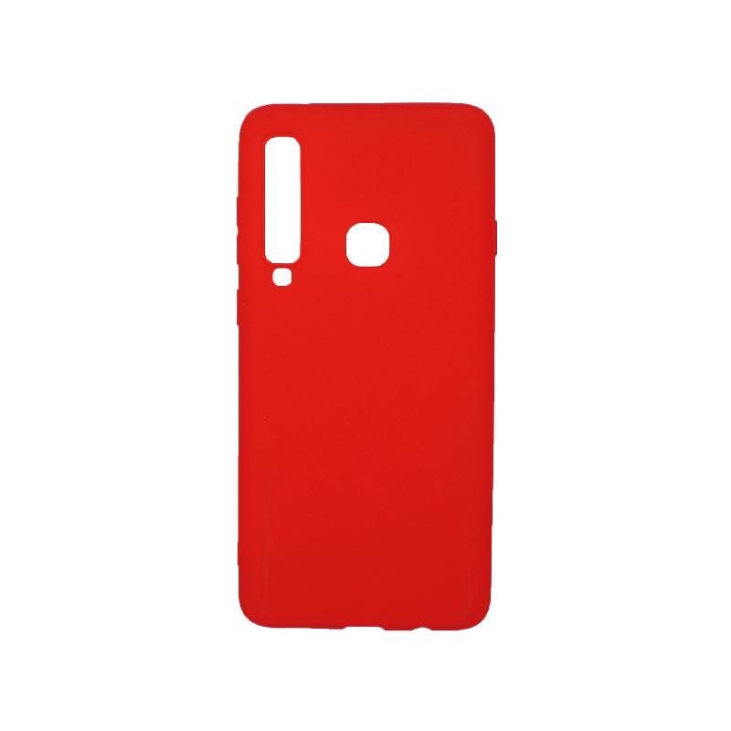 Θήκη Samsung Galaxy Α9 2018 Σιλικόνη κόκκινο