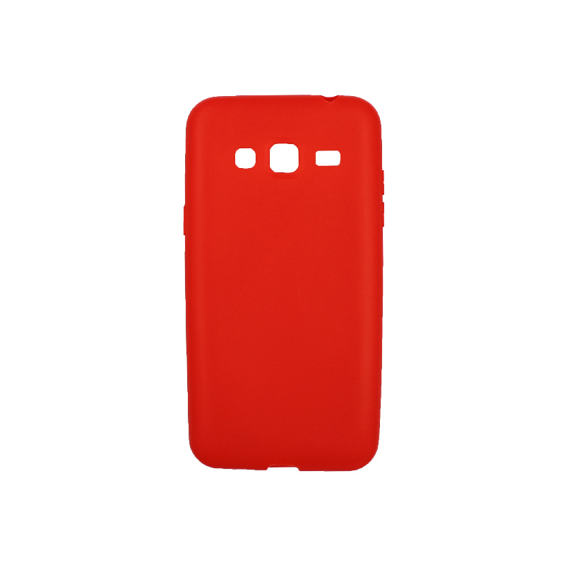 Θήκη Samsung Galaxy J3 2016 Σιλικόνη κόκκινο
