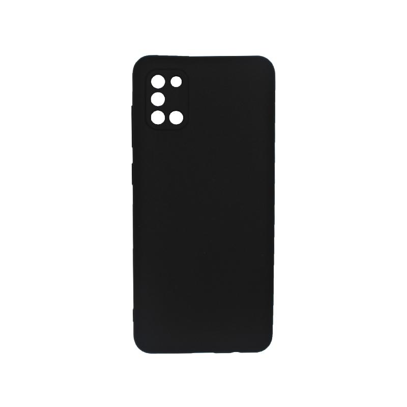 Θήκη Samsung A31 Σιλικόνη μαύρο