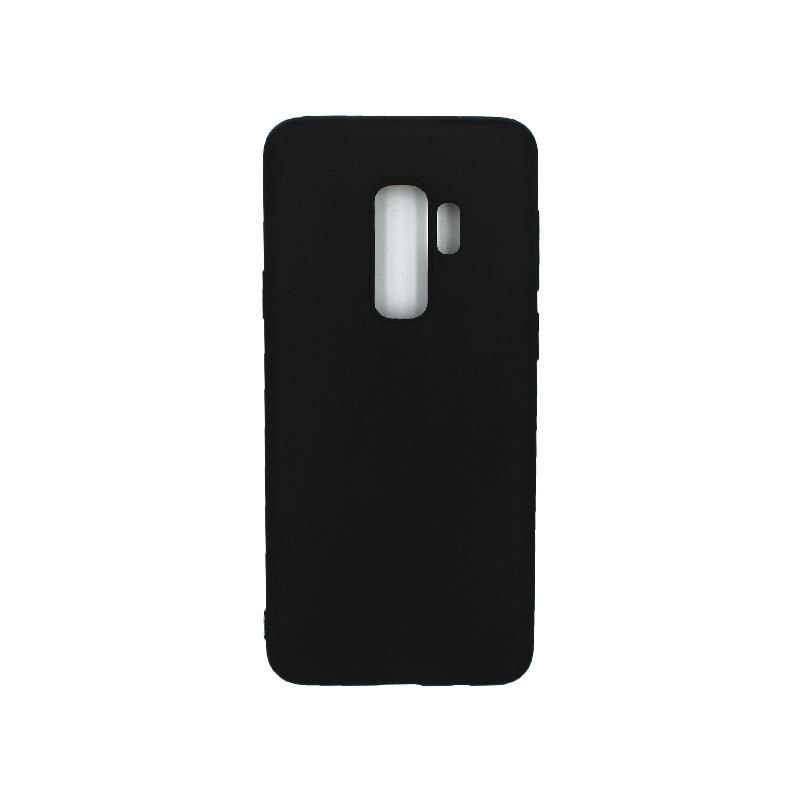 Θήκη Samsung Galaxy S9 Plus Σιλικόνη μαύρο