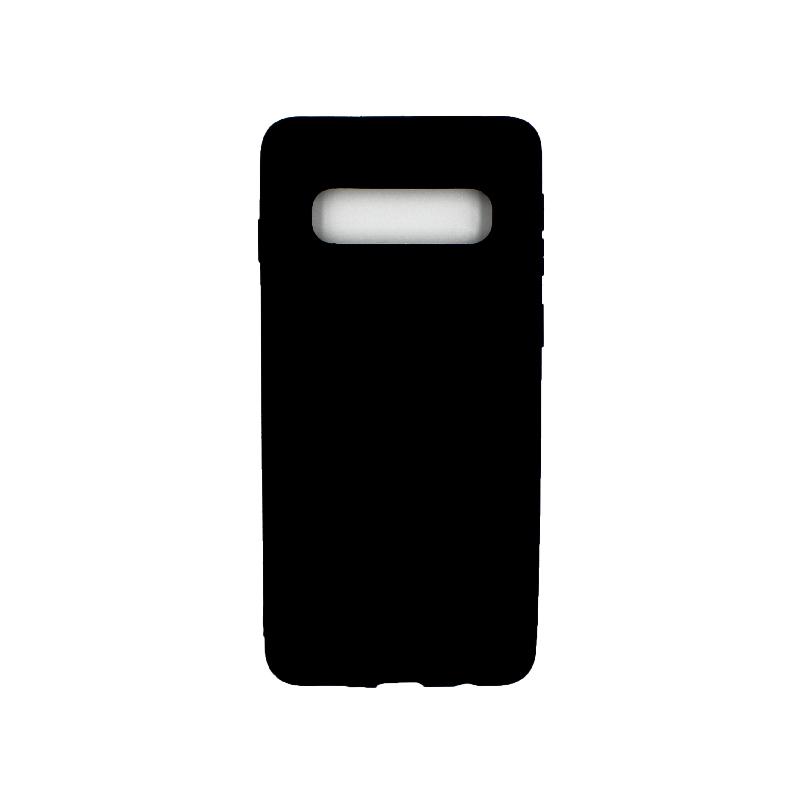 Θήκη Samsung Galaxy S10 Σιλικόνη μαύρο