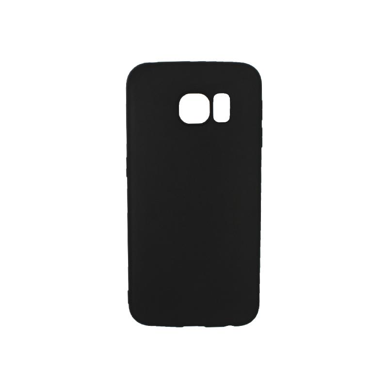 Θήκη Samsung Galaxy S6 Edge Σιλικόνη μαύρο
