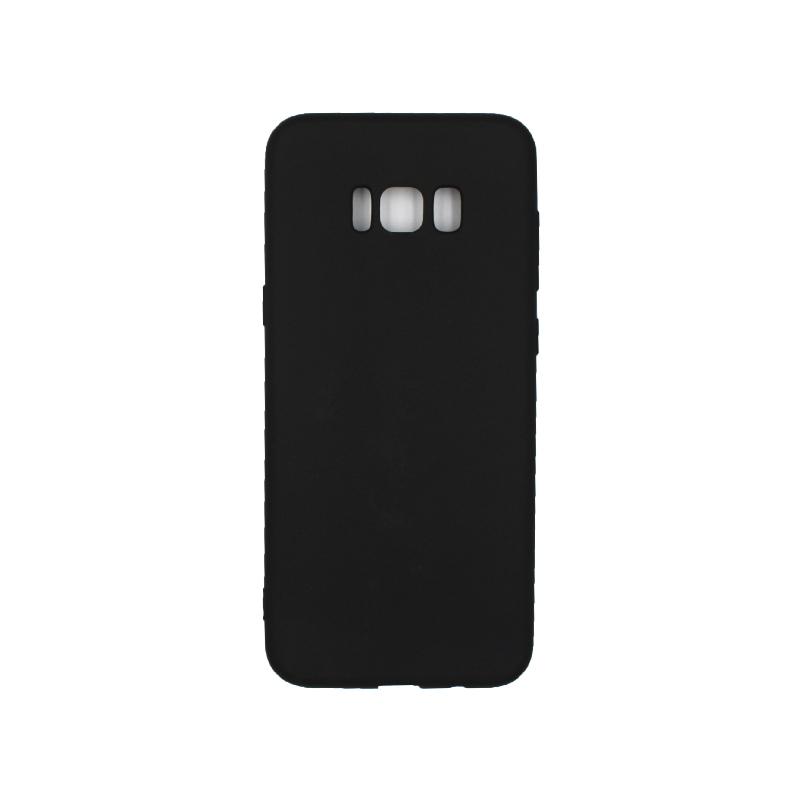 Θήκη Samsung Galaxy S8 Plus Σιλικόνη μαύρο