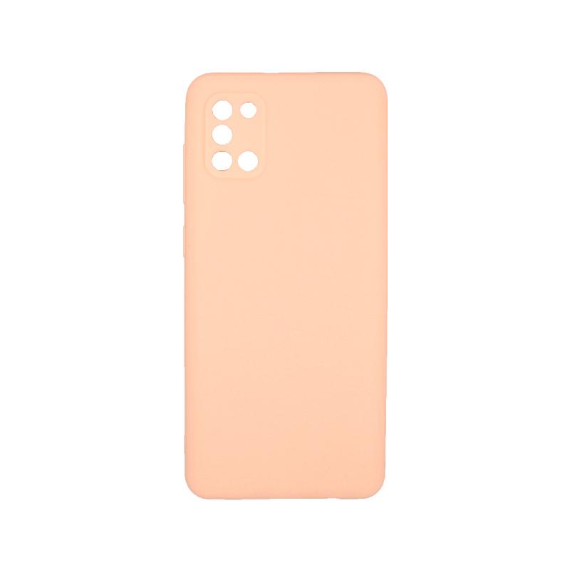 Θήκη Samsung A31 Σιλικόνη μπεζ