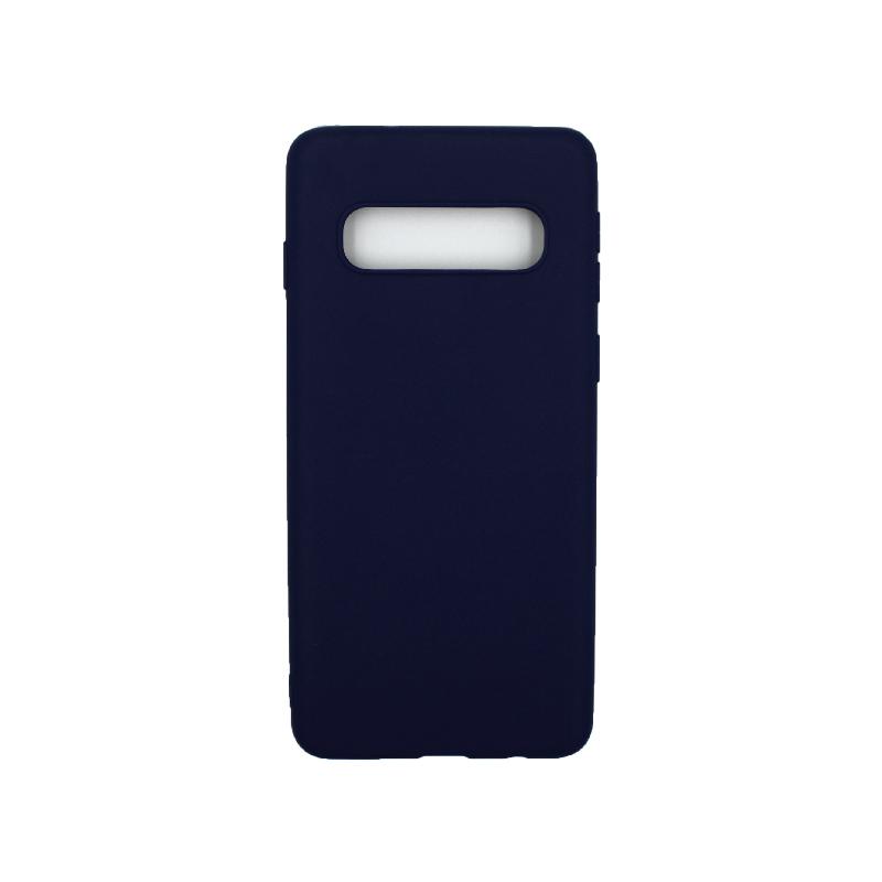 Θήκη Samsung Galaxy S10 Σιλικόνη μπλε