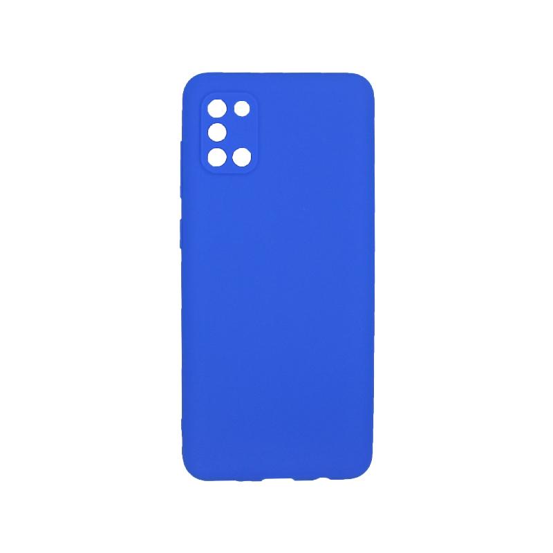 Θήκη Samsung A31 Σιλικόνη μπλε