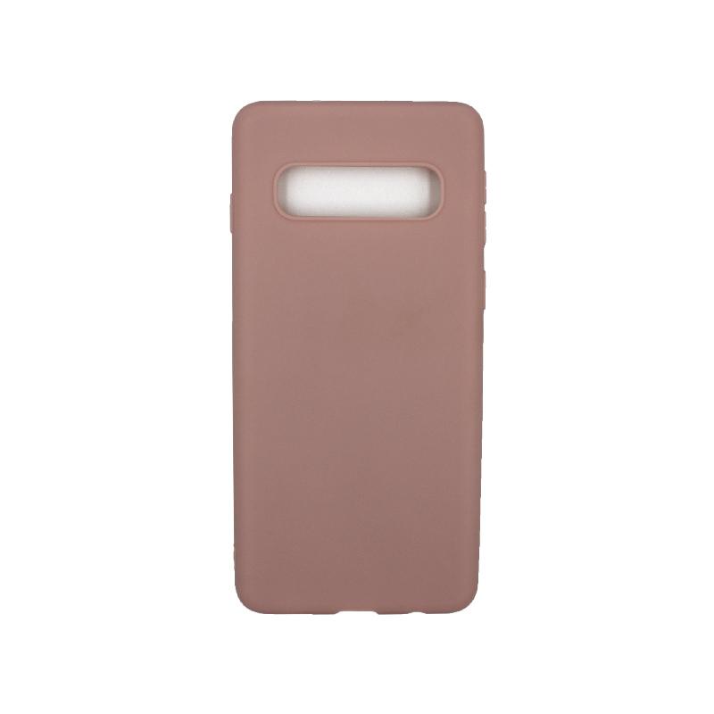 Θήκη Samsung Galaxy S10 Σιλικόνη nude