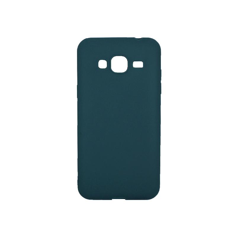 Θήκη Samsung Galaxy J3 2016 Σιλικόνη πετρόλ