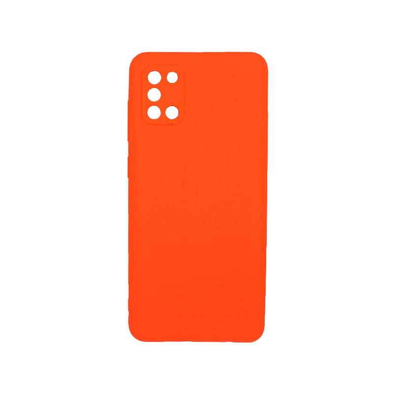 Θήκη Samsung A31 Σιλικόνη πορτοκαλί