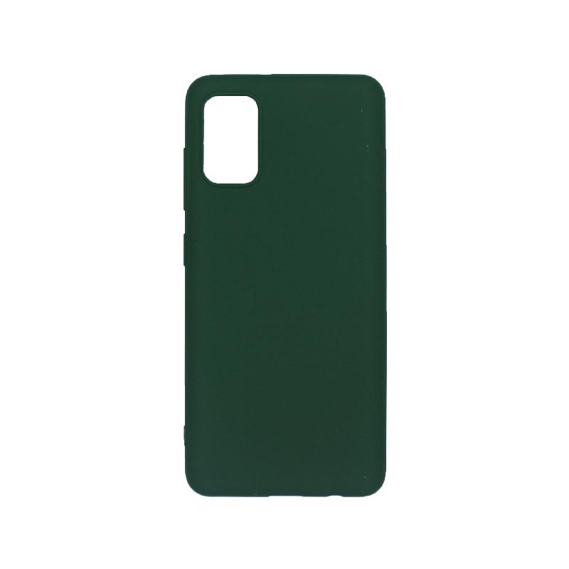 θήκη samsung A41 σιλικόνη πράσινο