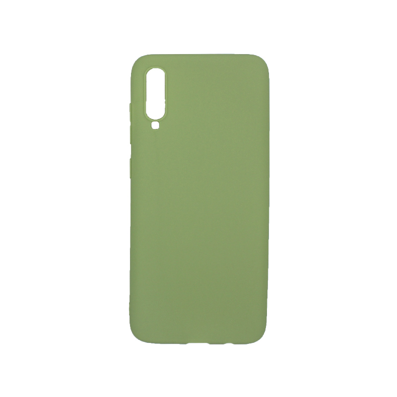 Θήκη Samsung Galaxy A70 / A70S Σιλικόνη πράσινο