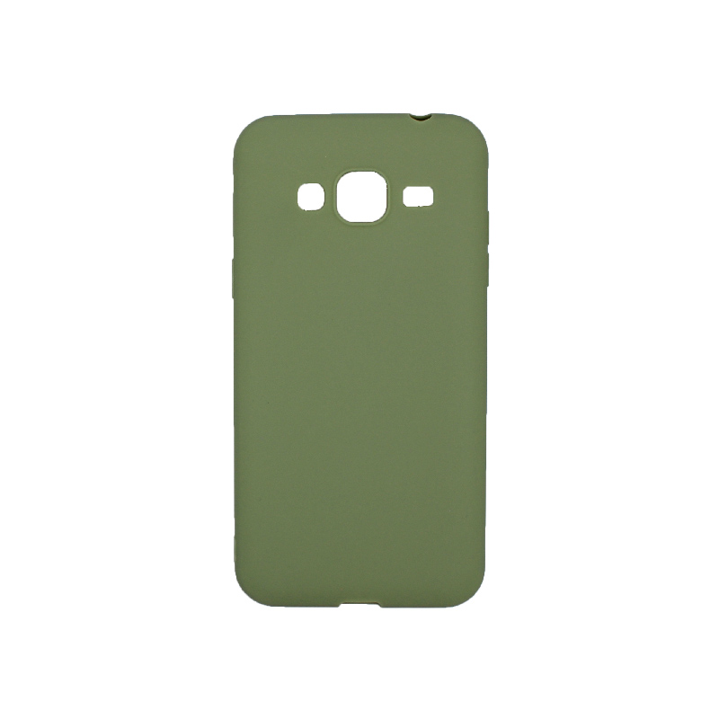 Θήκη Samsung Galaxy J3 2016 Σιλικόνη πράσινο